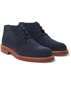 Ermenegildo Zegna | Suede Chukka Boots