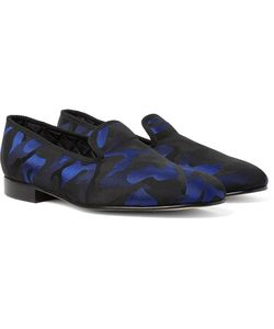 Richard James | Camouflage Jacquard Slippers