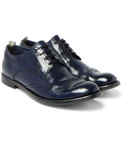 Officine Creative | Anatomia Polished-Leather Wingtip Brogues