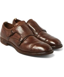 Officine Creative | Princeton Leather Monk-Strap Shoes
