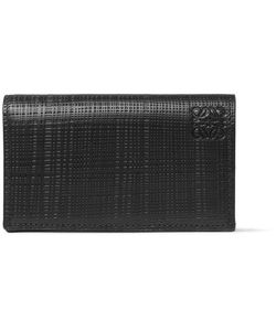 Loewe | Embossed Leather Bifold Cardholder