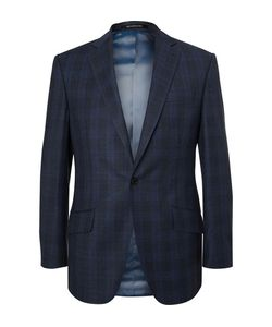 Richard James | Hyde Slim-Fit Checked Wool Suit Jacket