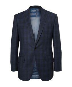Richard James | Hyde Slim-Fit Checked Wool Suit Jacket