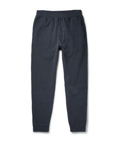 Folk   Slim-Fit Tapered Cotton-Piqué Sweatpants