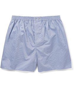 Zimmerli | Striped Mercerised Cotton Boxer Shorts