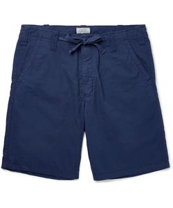 Hartford | Slim-Fit Drawstring Cotton Shorts