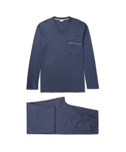 Zimmerli | Mercerised Cotton-Jersey Pyjama Set