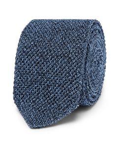 Ermenegildo Zegna | 6cm Mélange Knitted Silk Tie
