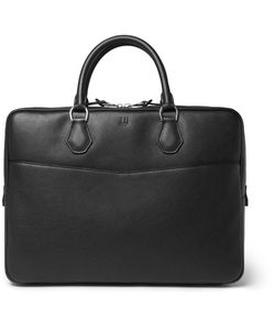 Dunhill | Boston Full-Grain Leather Briefcase
