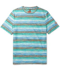 Missoni | Slim-Fit Striped Cotton-Jersey T-Shirt
