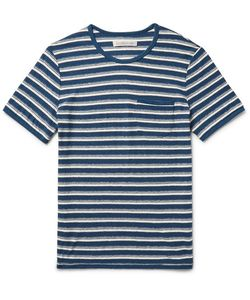 Outerknown | Shonan Striped Hemp And Organic-Cotton T-Shirt