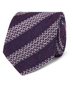 Ermenegildo Zegna | 8cm Striped Silk-Blend Tie
