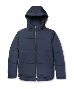 Folk   Quilted Shell Hooded Jacket