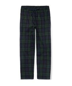 Sleepy Jones | Hoffman Checked Cotton-Flannel Pyjama Trousers