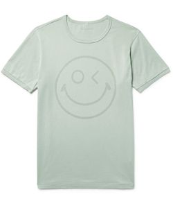 Outerknown | Happy Printed Organic Pima Cotton-Jersey T-Shirt