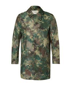 Mackintosh | Slim-Fit Camouflage-Print Shell Raincoat