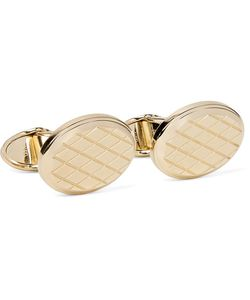 Dunhill | Engraved Gold-Tone Cufflinks