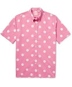Levi's Vintage Clothing | 1960s Button-Down Collar Polka-Dot Cotton-Poplin Shirt