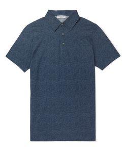 Richard James | Printed Cotton-Jersey Polo Shirt