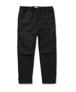 Oamc | Slim-Fit Tape Cropped Cotton Trousers