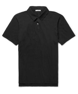 James Perse | Slim-Fit Supima Cotton-Jersey Polo Shirt