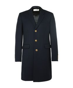 Saint Laurent | Slim-Fit Wool And Silk-Blend Twill Coat