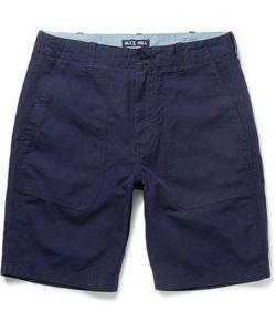 Alex Mill | Cotton And Linen-Blend Canvas Shorts
