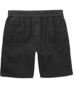 Folk | Cotton And Linen-Blend Drawstring Shorts