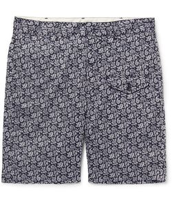 Engineered Garments | Ghurka Paisley-Print Cotton-Voile Shorts