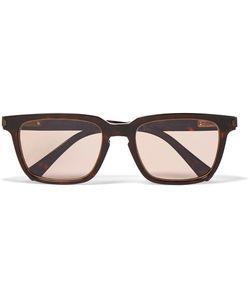 Brioni | D-Frame Tortoiseshell Acetate Sunglasses