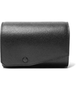 Valextra | Pebble-Grain Leather Watch Roll