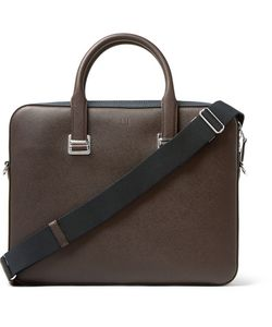 Dunhill | Cadogan Cross-Grain Leather Briefcase