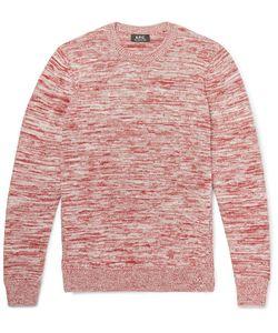 A.P.C. | A.P.C. Soto Mélange Cotton Sweater