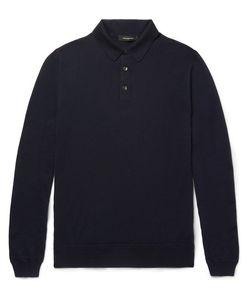 Ermenegildo Zegna | Wool And Cashmere-Blend Polo Shirt