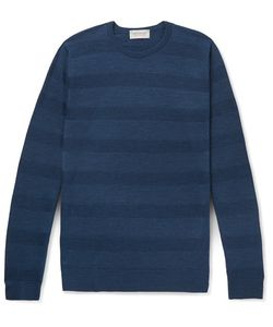 John Smedley | Coplow Striped Merino Wool Sweater