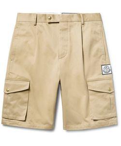Moncler Gamme Bleu | Slim-Fit Cotton-Gabardine Cargo Shorts