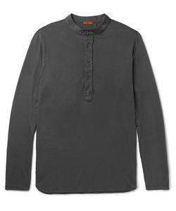 Barena   Nalin Cotton-Jersey Henley T-Shirt