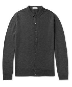 John Smedley   Parwish Merino Wool Shirt