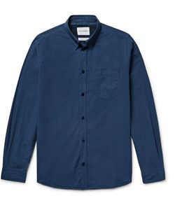Norse Projects | Anton Slim-Fit Garment-Dyed Cotton-Poplin Shirt