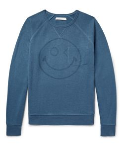 Outerknown | Happy Transit Printed Hemp-Blend Sweatshirt