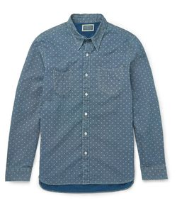 Rrl | Printed Denim Shirt