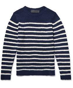 The Elder Statesman | Picasso Striped Cashmere Sweater