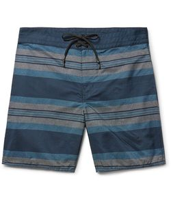 Outerknown | Evolution Long-Length Striped Econyl Swim Shorts