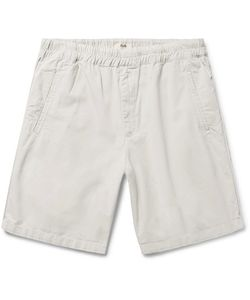 Folk | The Assembly Garment-Dyed Cotton-Ripstop Shorts