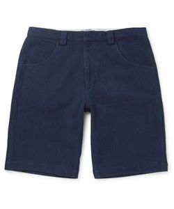 Blue Blue Japan | Sashiko-Stitched Cotton Shorts