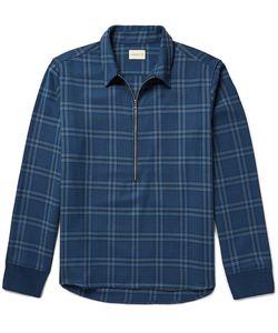 Simon Miller   Plaid Cotton-Twill Shirt