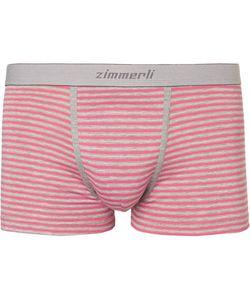 Zimmerli | Striped Mélange Stretch-Cotton Boxer Briefs