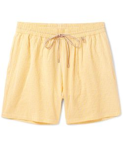 Loro Piana | Mid-Length Striped Cotton-Blend Swim Shorts