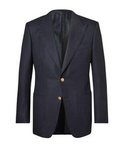 Tom Ford   Windsor Basketweave Wool And Mohair-Blend Blazer