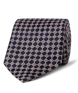 Dunhill | 8.5cm Mulberry Silk-Jacquard Tie